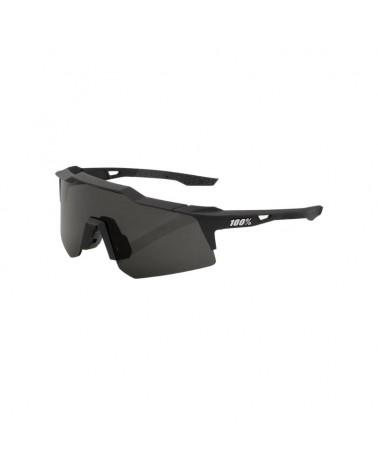 Gafas 100% Speedcraft XS - Soft Tact Black - Lente Smoke