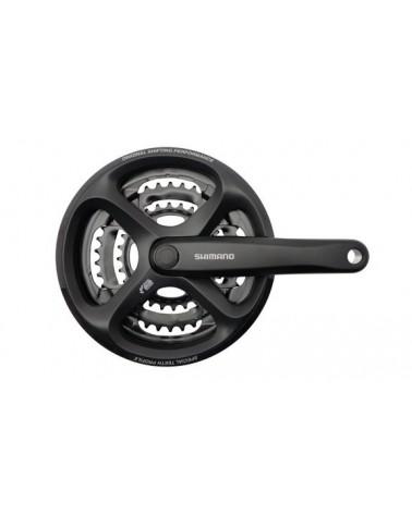 Platos y bielas Shimano M171 negro