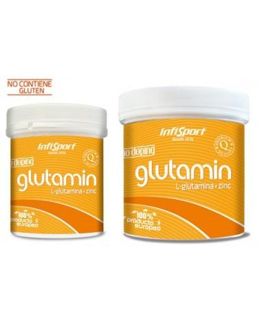 Infisport Glutamin polvo 300 gramos