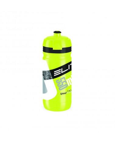 Bidon Elite Corsa 550 ml. Amarillo Fluor