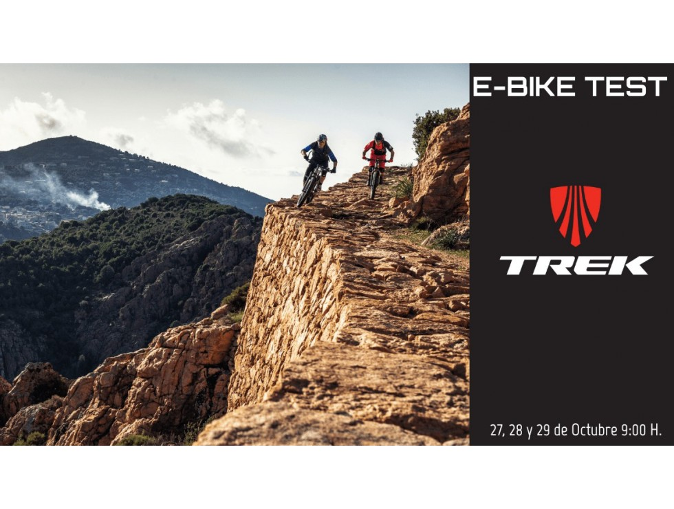 E-Bike Test Day Trek